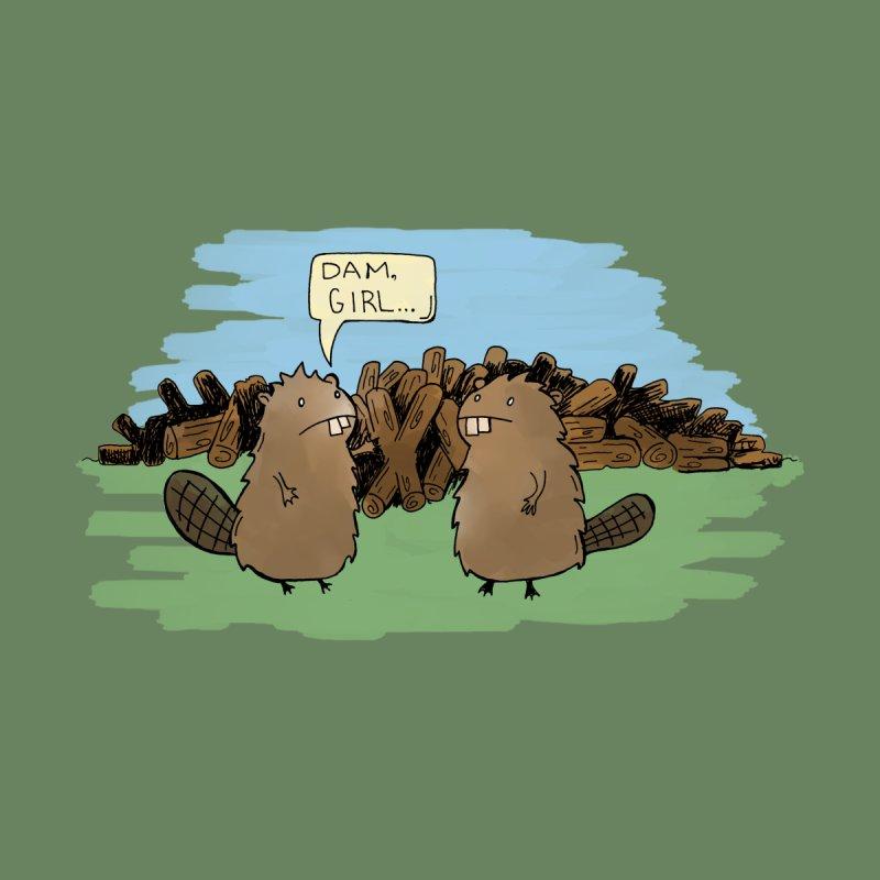 Dam Girl! Beavers Men's T-Shirt by michaelolsonart's Artist Shop