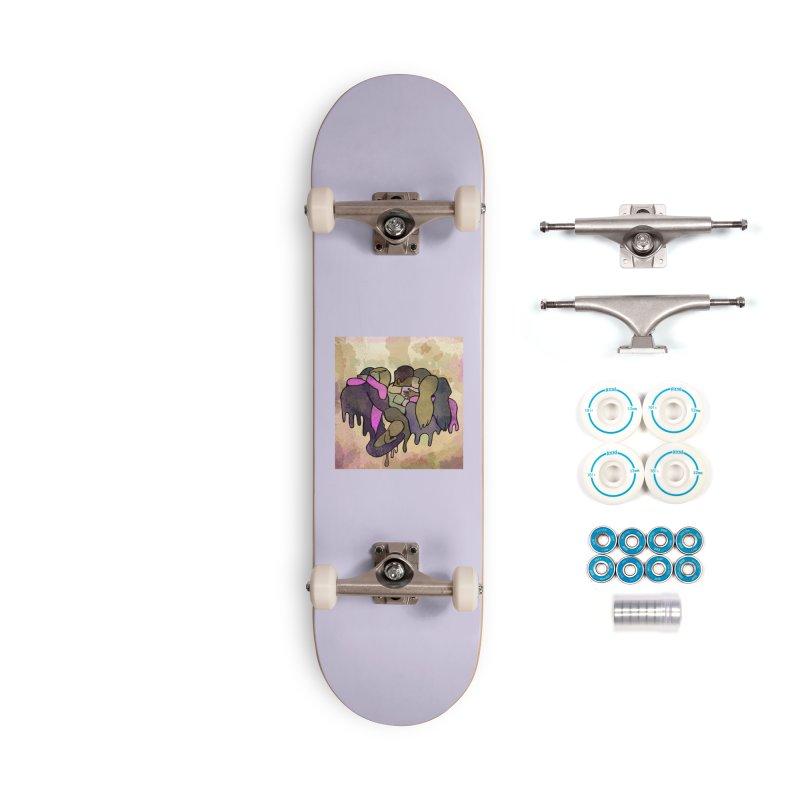 Life is short, love is love. Accessories Skateboard by michaelolsonart's Artist Shop