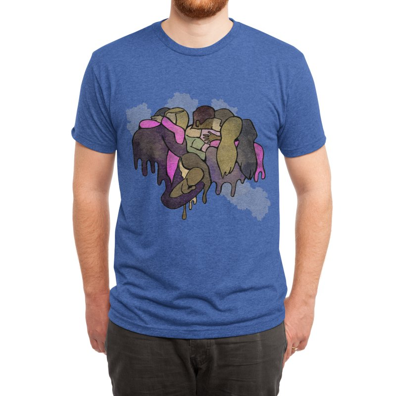 Life is short, love is love. Men's T-Shirt by michaelolsonart's Artist Shop