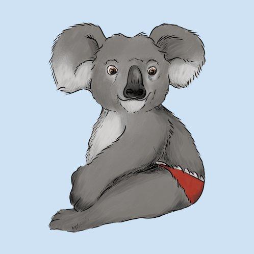 Design for A Koala in a speedo