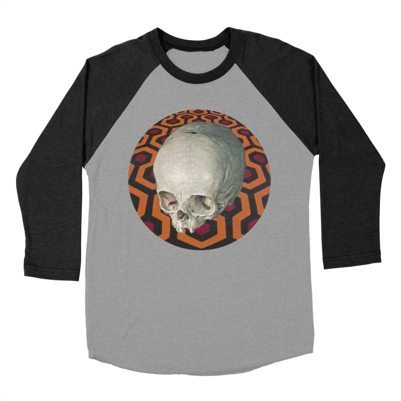 Redrum Men's Baseball Triblend T-Shirt by michaelreedy's Artist Shop