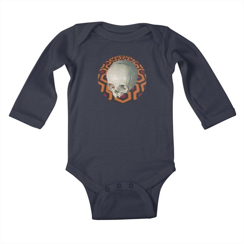 Redrum Kids Baby Longsleeve Bodysuit by michaelreedy's Artist Shop