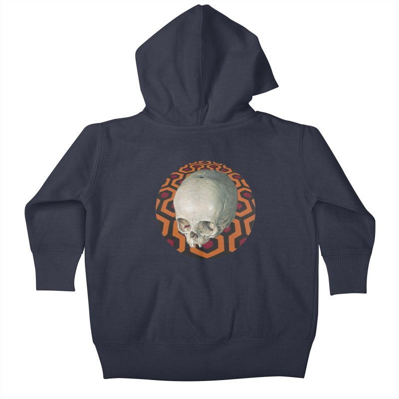 Redrum Kids Baby Zip-Up Hoody by michaelreedy's Artist Shop