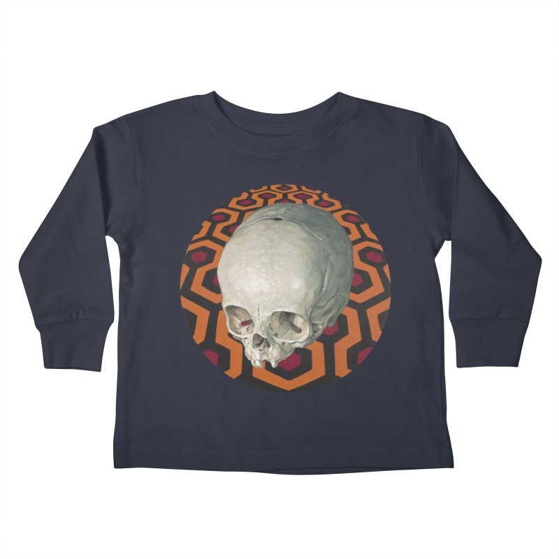 Redrum Kids Toddler Longsleeve T-Shirt by michaelreedy's Artist Shop