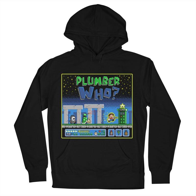 """Plumber Who?"" - Stonehenge Women's Pullover Hoody by Garbonite"