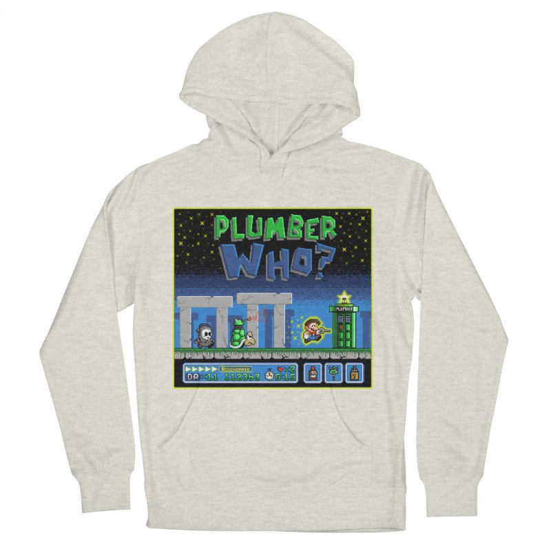 """Plumber Who?"" - Stonehenge Men's Pullover Hoody by Garbonite"