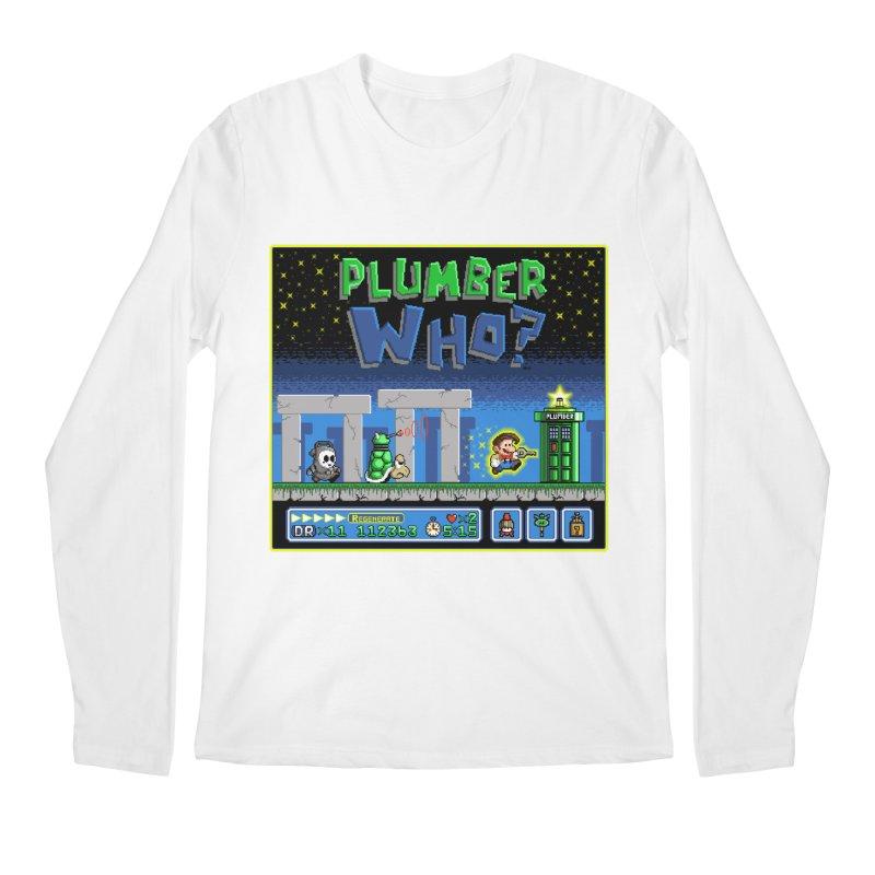 """""""Plumber Who?"""" - Stonehenge Men's Regular Longsleeve T-Shirt by Garbonite"""