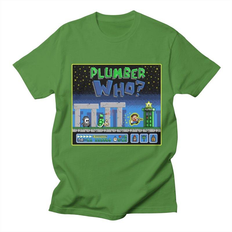 """Plumber Who?"" - Stonehenge Men's T-shirt by Garbonite"