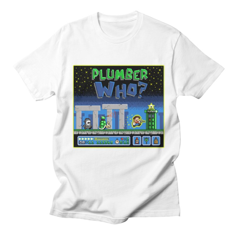 """Plumber Who?"" - Stonehenge Men's T-Shirt by Garbonite"