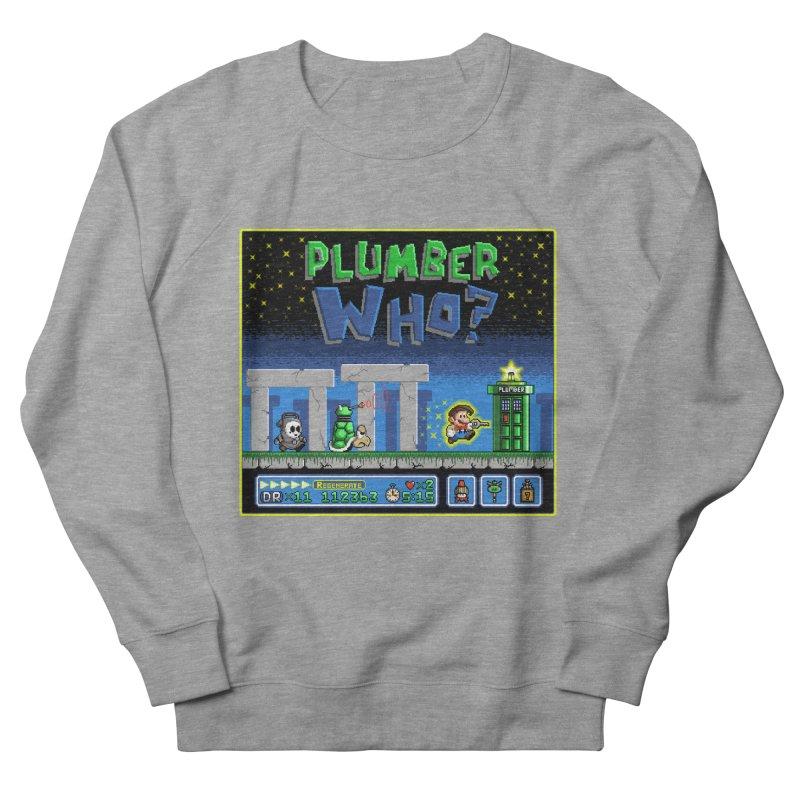 """""""Plumber Who?"""" - Stonehenge Women's Sweatshirt by Garbonite"""