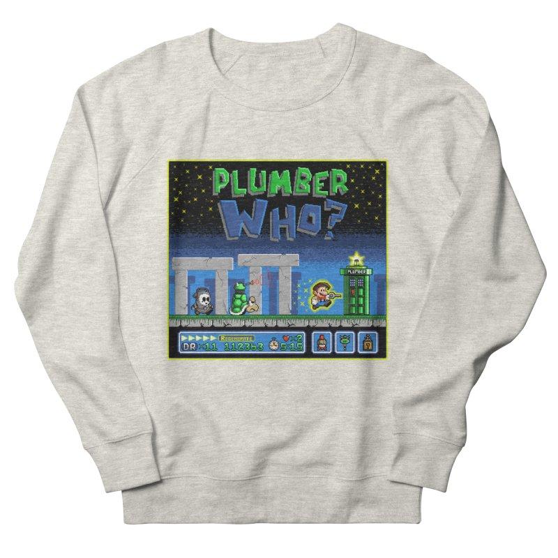 """""""Plumber Who?"""" - Stonehenge Women's French Terry Sweatshirt by Garbonite"""