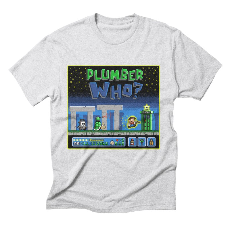"""Plumber Who?"" - Stonehenge Men's Triblend T-Shirt by Garbonite"