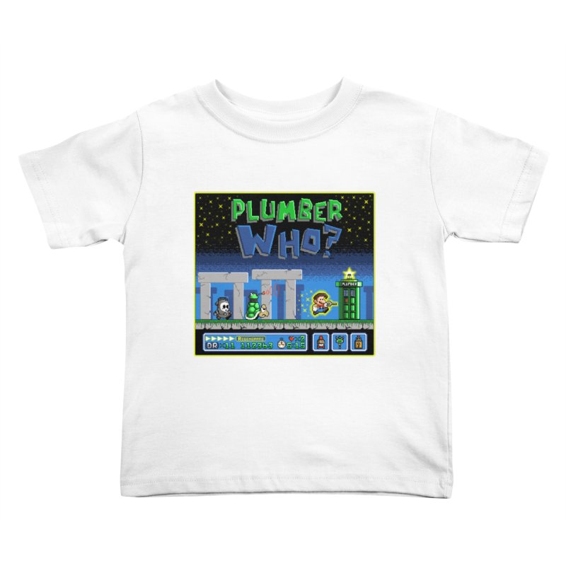 """Plumber Who?"" - Stonehenge Kids Toddler T-Shirt by Garbonite"