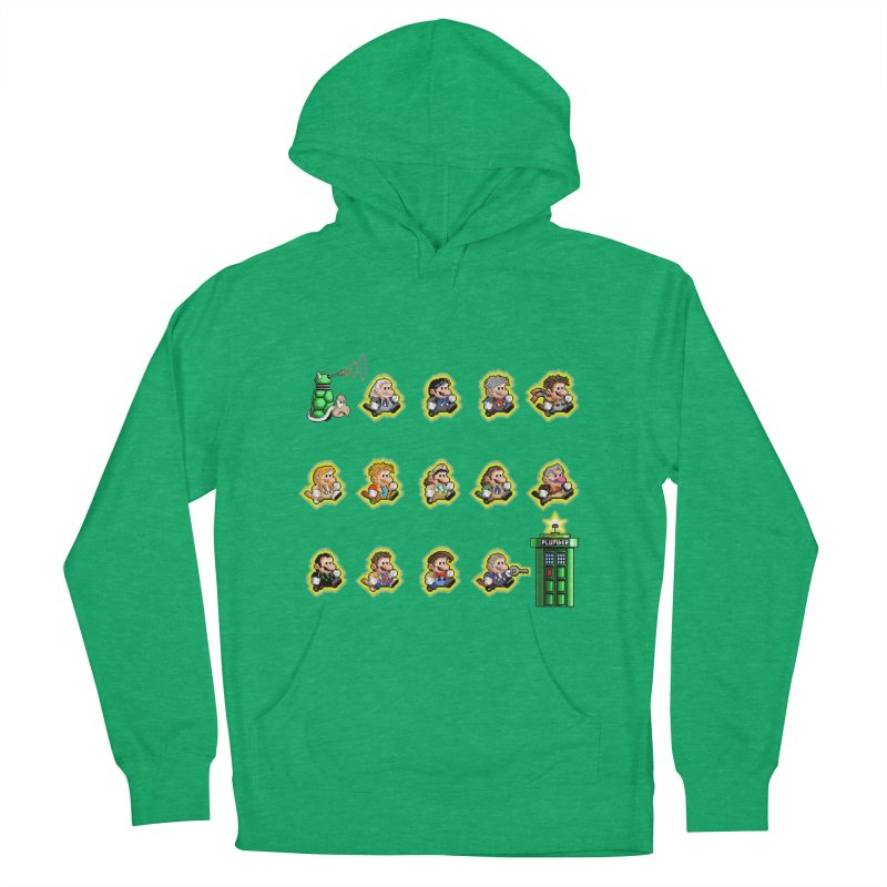 """""""Plumber Who?"""" - Extra Lives Men's French Terry Pullover Hoody by Garbonite"""