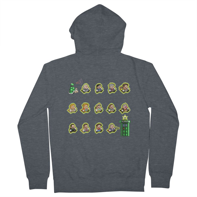 """""""Plumber Who?"""" - Extra Lives Women's Zip-Up Hoody by Garbonite"""