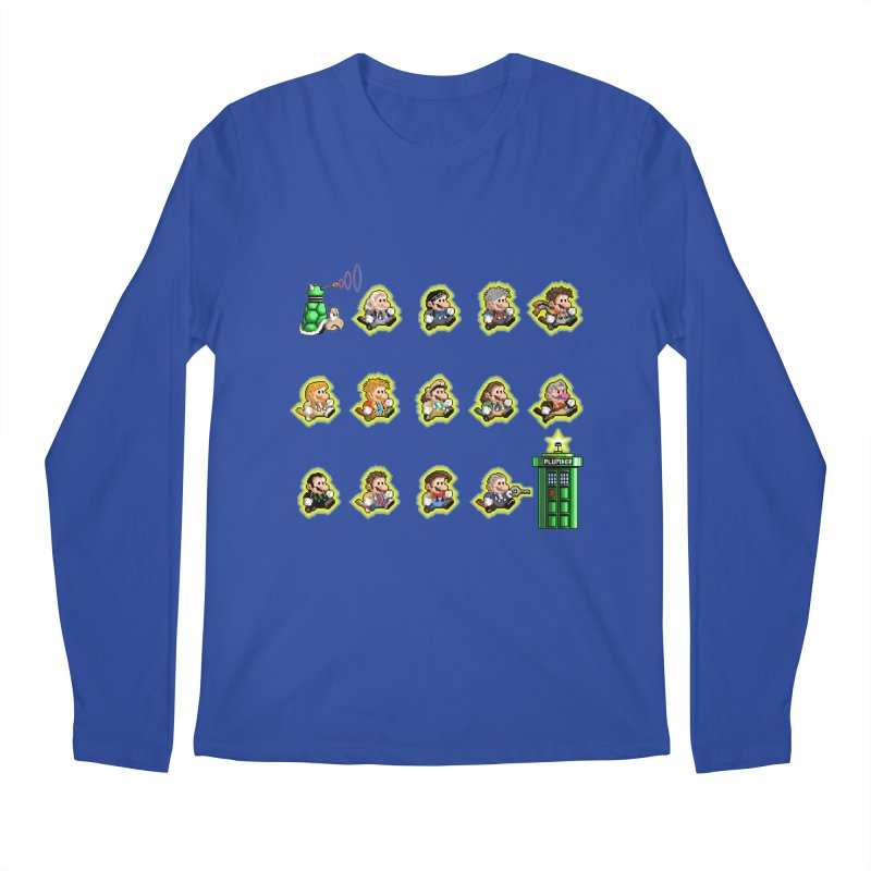 """Plumber Who?"" - Extra Lives Men's Longsleeve T-Shirt by Garbonite"