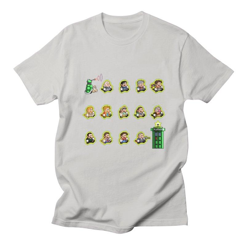 """""""Plumber Who?"""" - Extra Lives Men's Regular T-Shirt by Garbonite"""