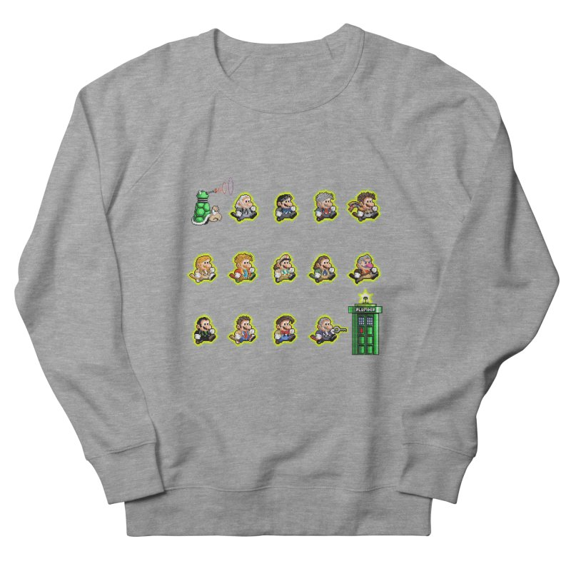 """""""Plumber Who?"""" - Extra Lives Men's French Terry Sweatshirt by Garbonite"""