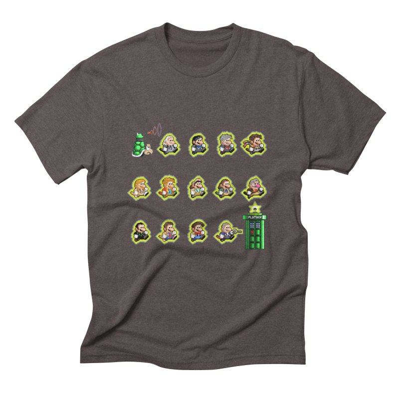 """""""Plumber Who?"""" - Extra Lives Men's Triblend T-Shirt by Garbonite"""