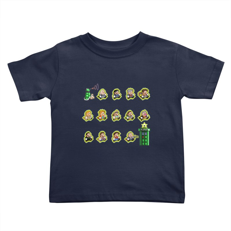 """Plumber Who?"" - Extra Lives Kids Toddler T-Shirt by Garbonite"