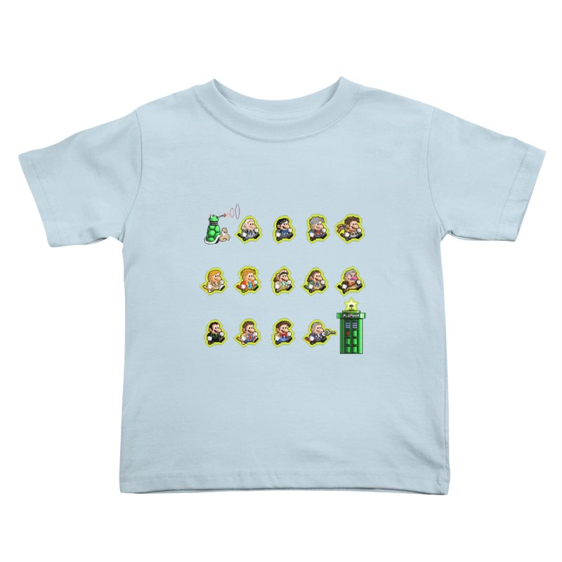 """""""Plumber Who?"""" - Extra Lives Kids Toddler T-Shirt by Garbonite"""