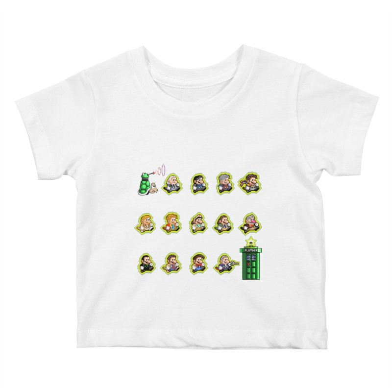 """""""Plumber Who?"""" - Extra Lives Kids Baby T-Shirt by Garbonite"""