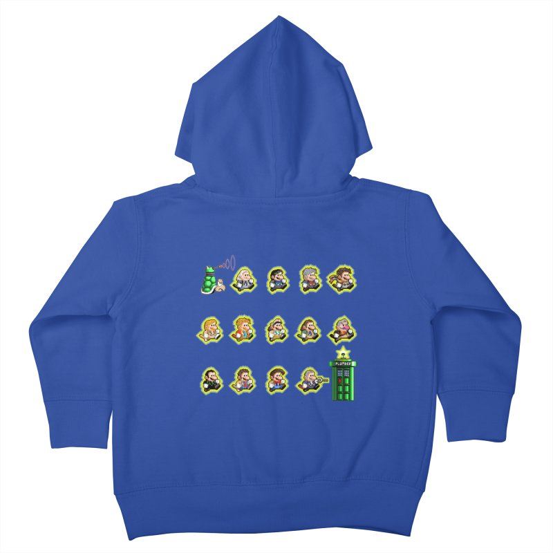 """Plumber Who?"" - Extra Lives Kids Toddler Zip-Up Hoody by Garbonite"