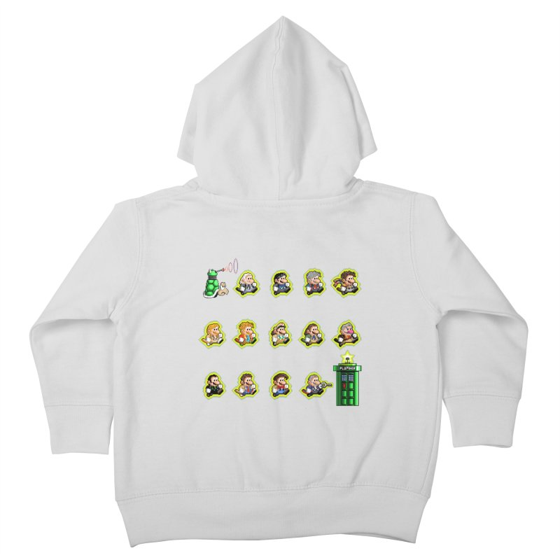 """""""Plumber Who?"""" - Extra Lives Kids Toddler Zip-Up Hoody by Garbonite"""