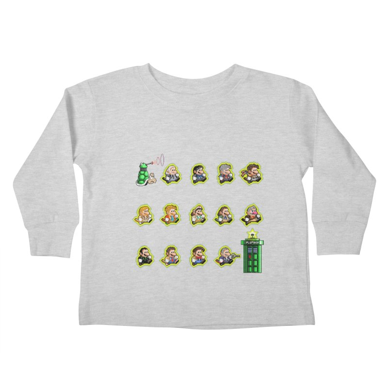 """Plumber Who?"" - Extra Lives Kids Toddler Longsleeve T-Shirt by Garbonite"