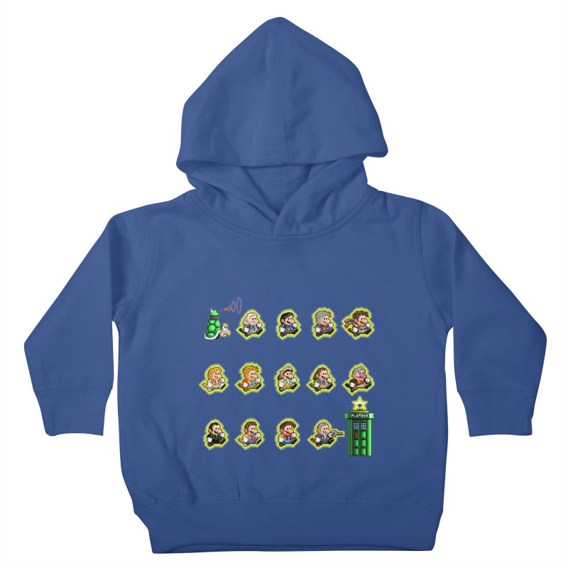 """""""Plumber Who?"""" - Extra Lives Kids Toddler Pullover Hoody by Garbonite"""