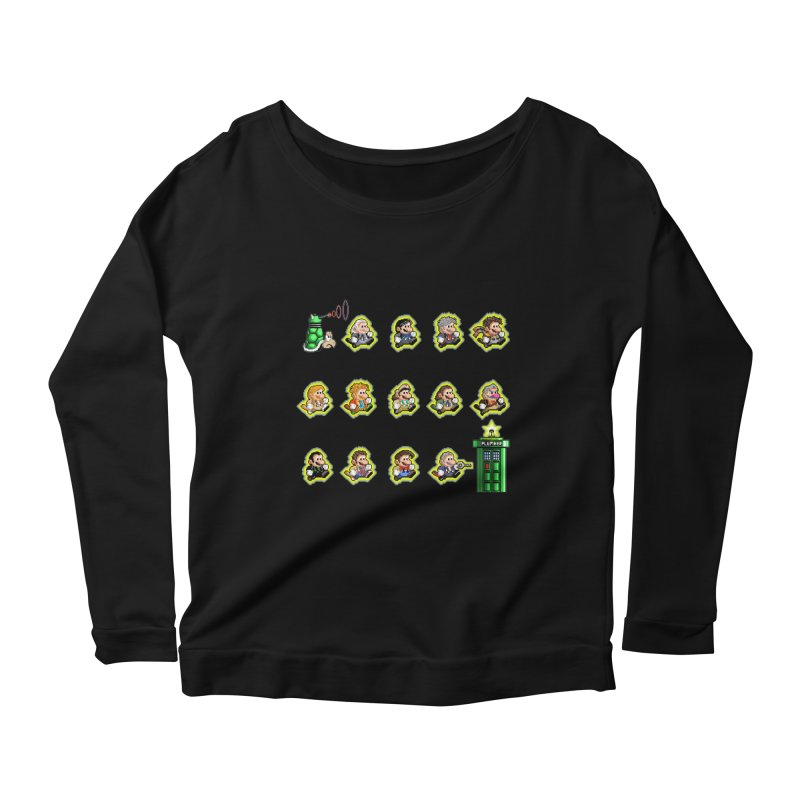 """""""Plumber Who?"""" - Extra Lives Women's Scoop Neck Longsleeve T-Shirt by Garbonite"""
