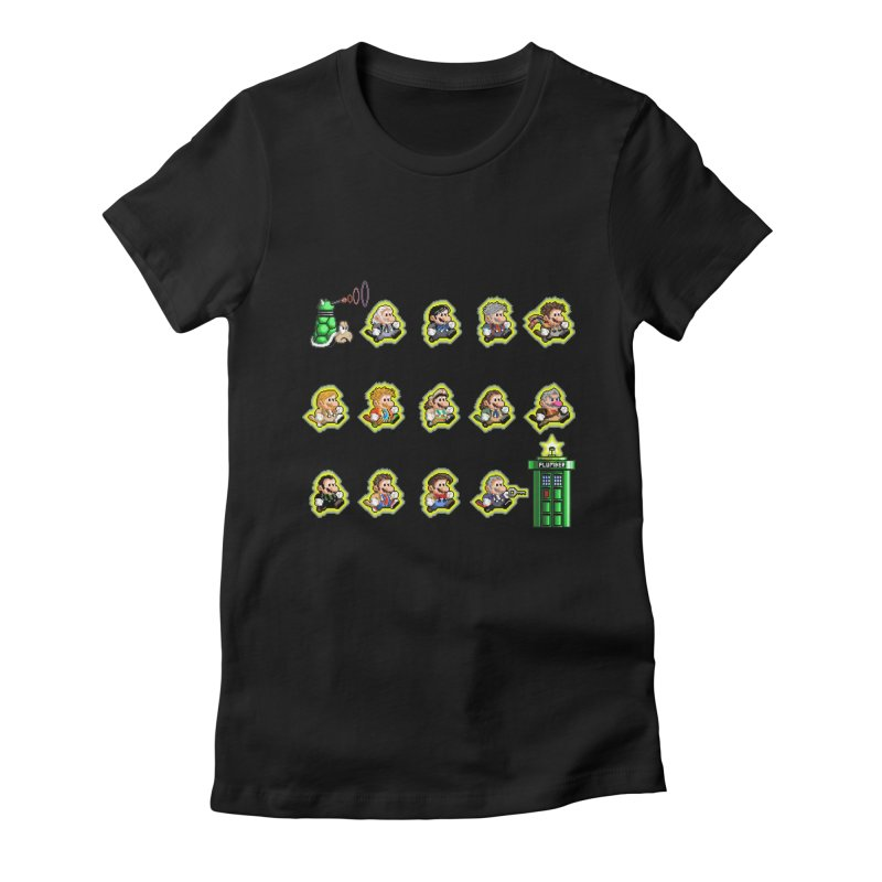 """Plumber Who?"" - Extra Lives Women's Fitted T-Shirt by Garbonite"