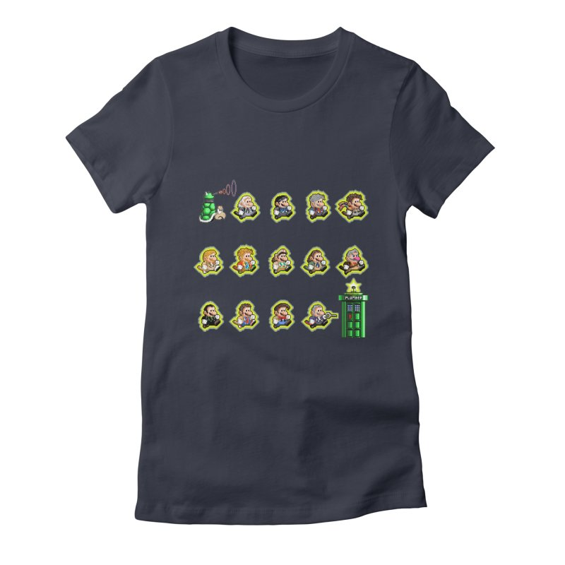 """""""Plumber Who?"""" - Extra Lives Women's Fitted T-Shirt by Garbonite"""