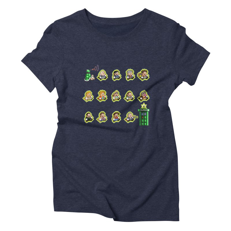 """""""Plumber Who?"""" - Extra Lives Women's Triblend T-Shirt by Garbonite"""