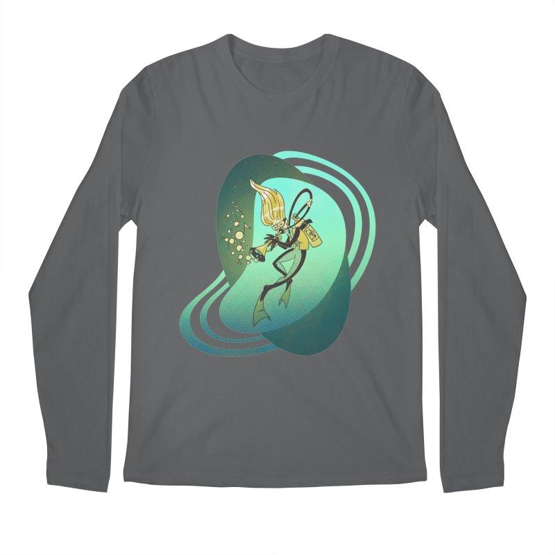 Scubadour Men's Regular Longsleeve T-Shirt by Garbonite