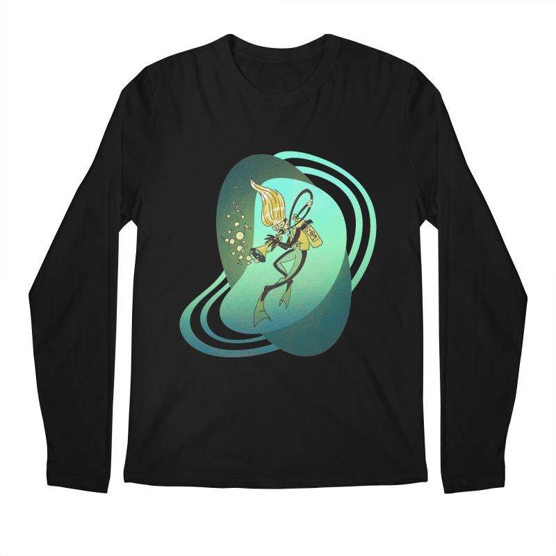 Scubadour Men's Longsleeve T-Shirt by Garbonite