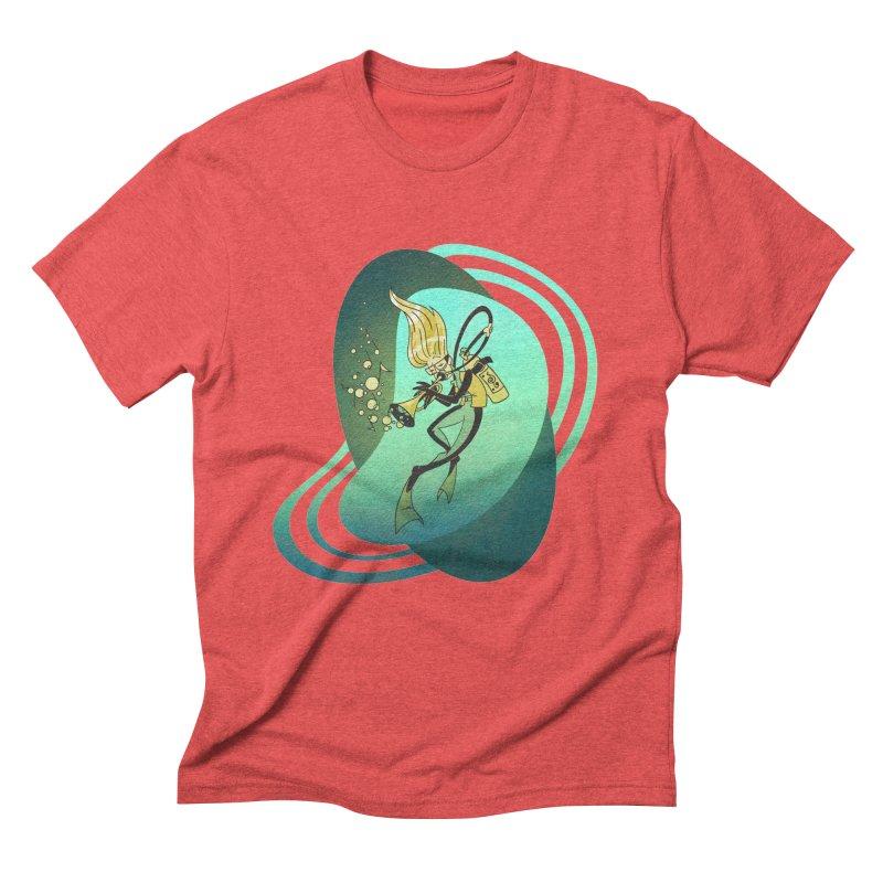 Scubadour Men's Triblend T-shirt by Garbonite