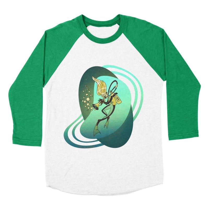 Scubadour Men's Baseball Triblend T-Shirt by Garbonite