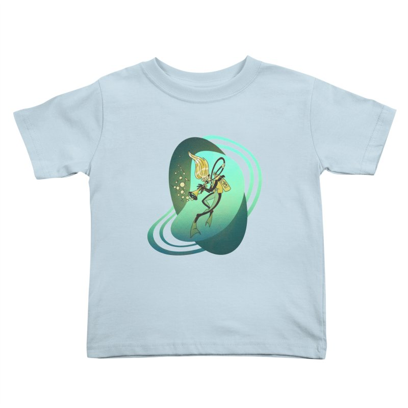 Scubadour Kids Toddler T-Shirt by Garbonite