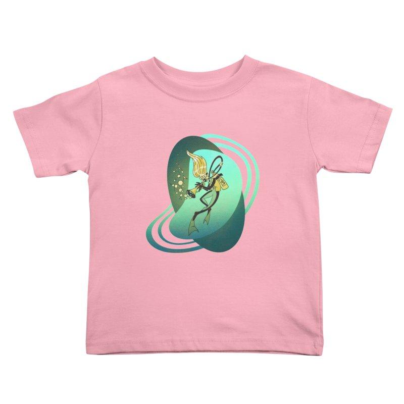 Scubadour Kids Toddler T-Shirt by Garbonite