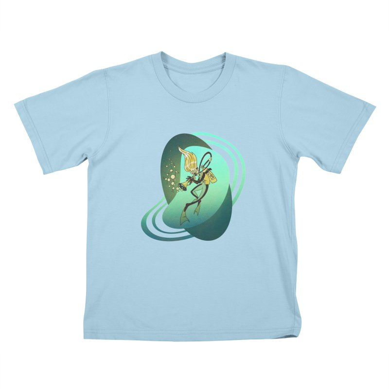 Scubadour Kids T-Shirt by Garbonite