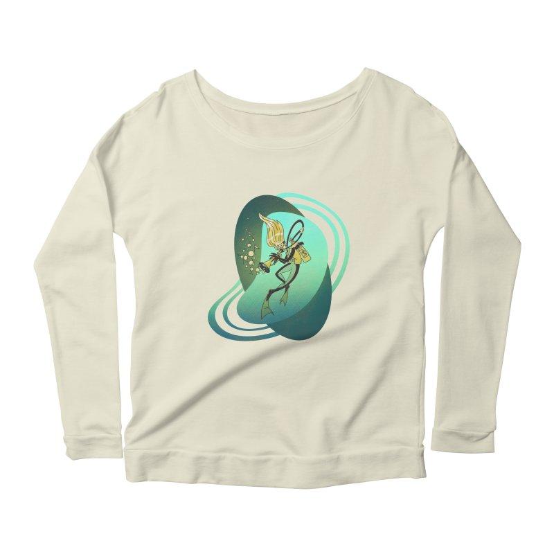 Scubadour Women's Scoop Neck Longsleeve T-Shirt by Garbonite
