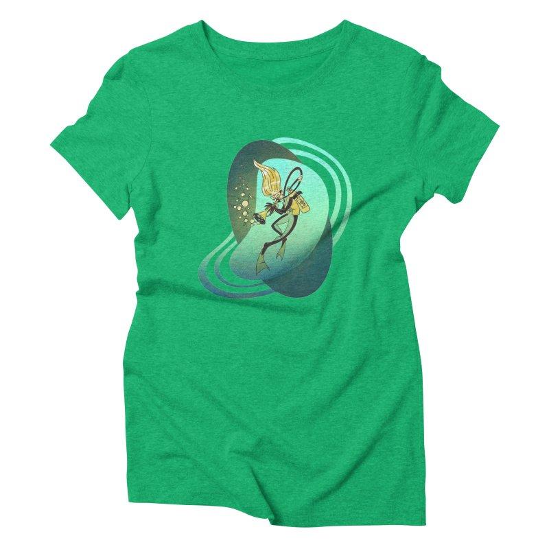 Scubadour Women's Triblend T-Shirt by Garbonite