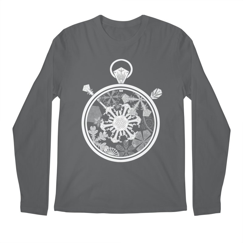 Winter Time Men's Regular Longsleeve T-Shirt by Garbonite