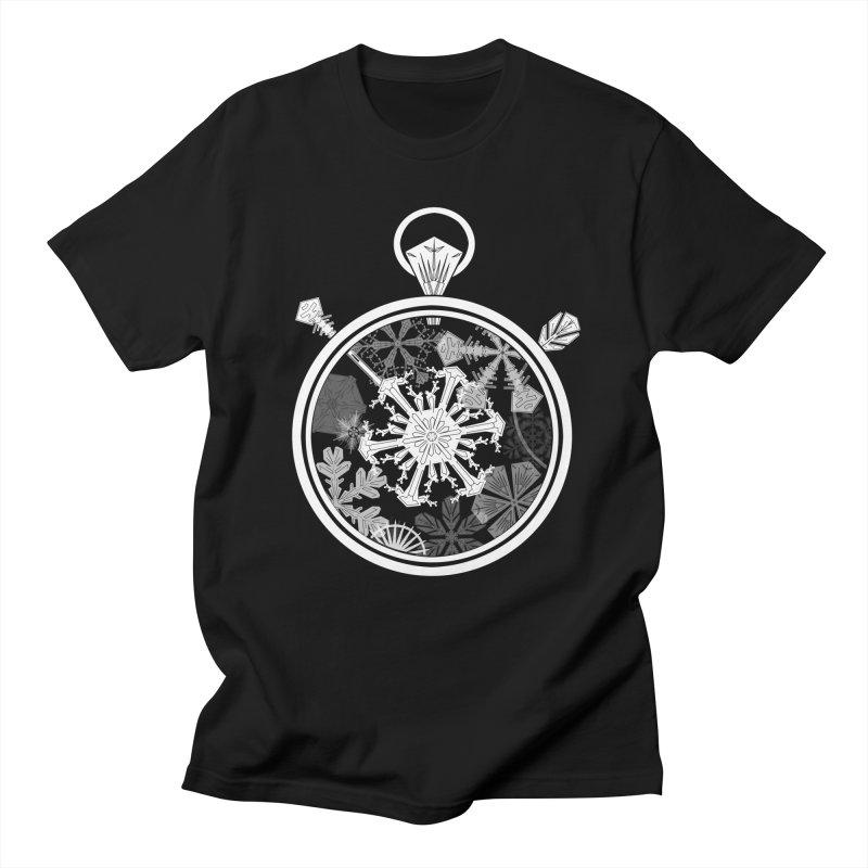 Winter Time Men's T-Shirt by Garbonite