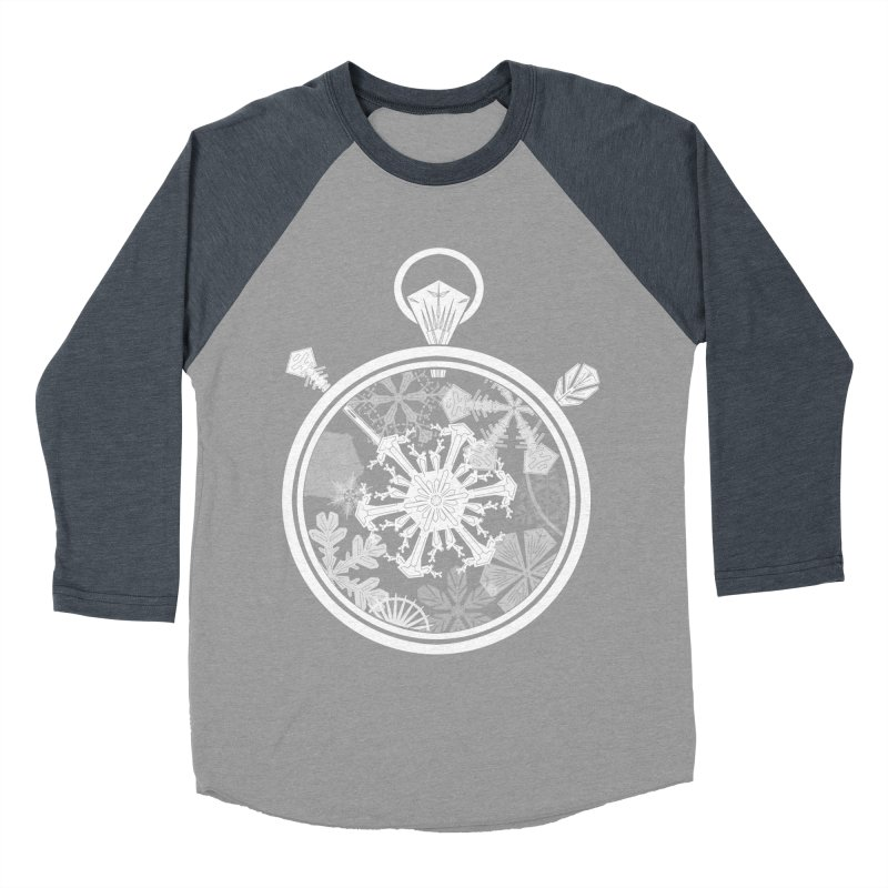 Winter Time Men's Baseball Triblend T-Shirt by Garbonite