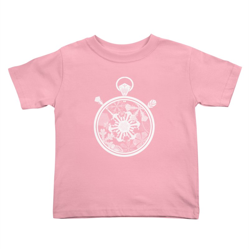 Winter Time Kids Toddler T-Shirt by Garbonite