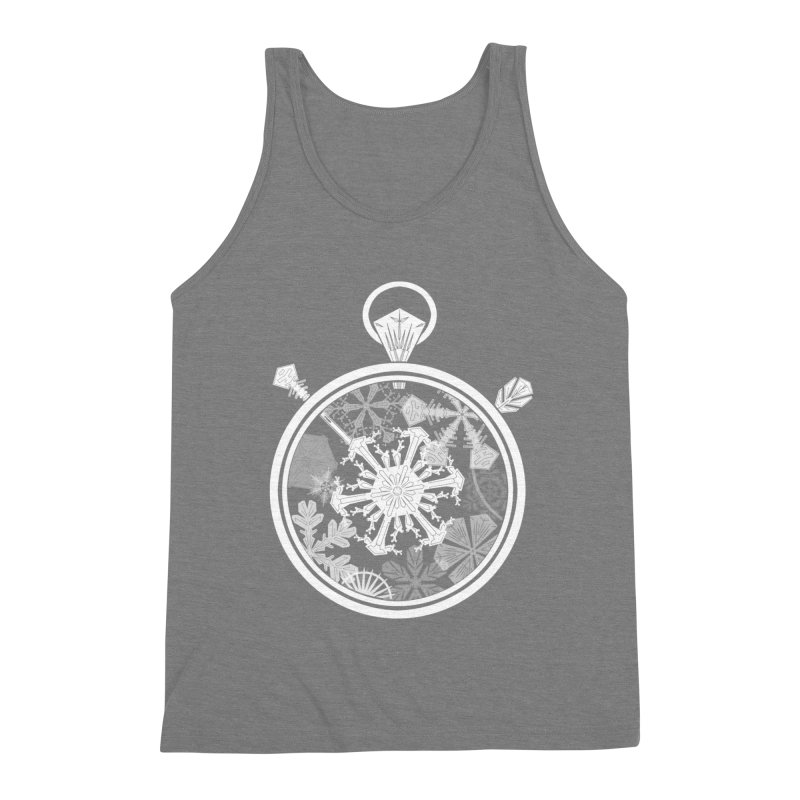 Winter Time Men's Triblend Tank by Garbonite