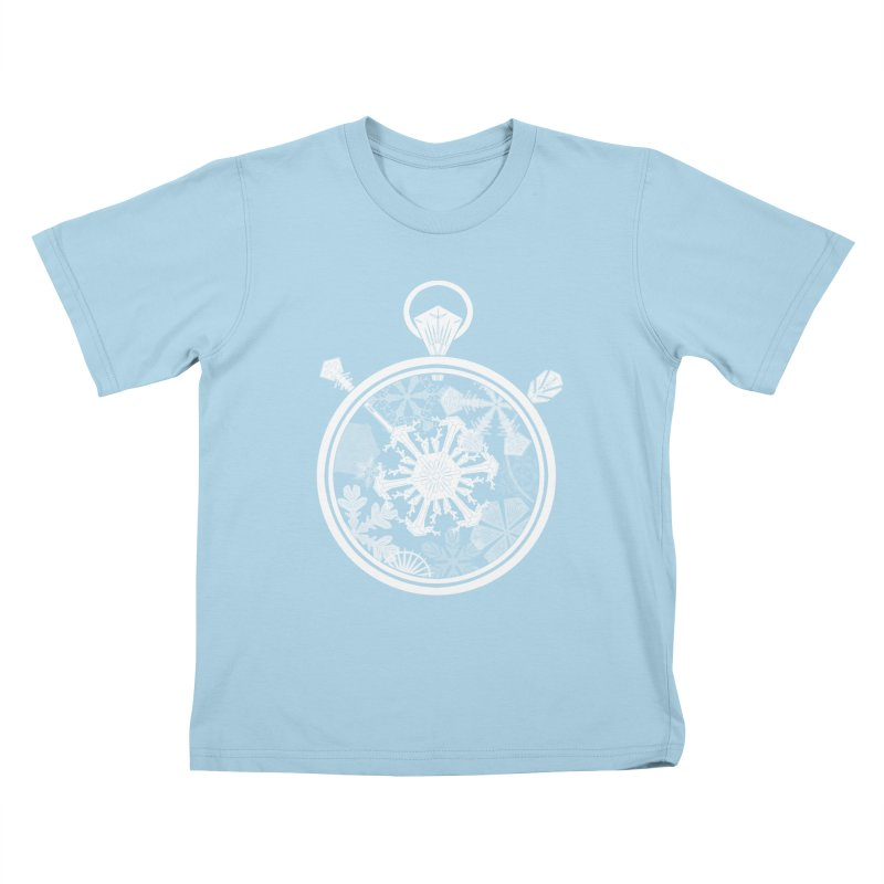 Winter Time Kids T-shirt by Garbonite