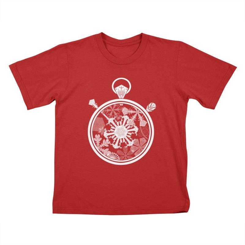 Winter Time Kids T-shirt by Garbonite